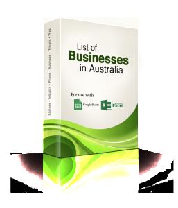 business mailing lists australia