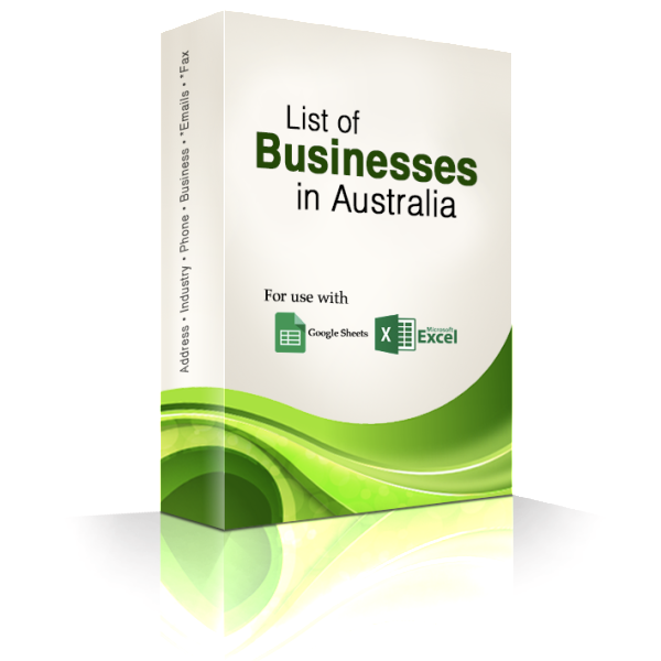 business mailing lists australia