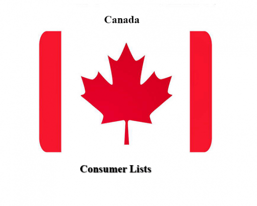 consumer email lists canada